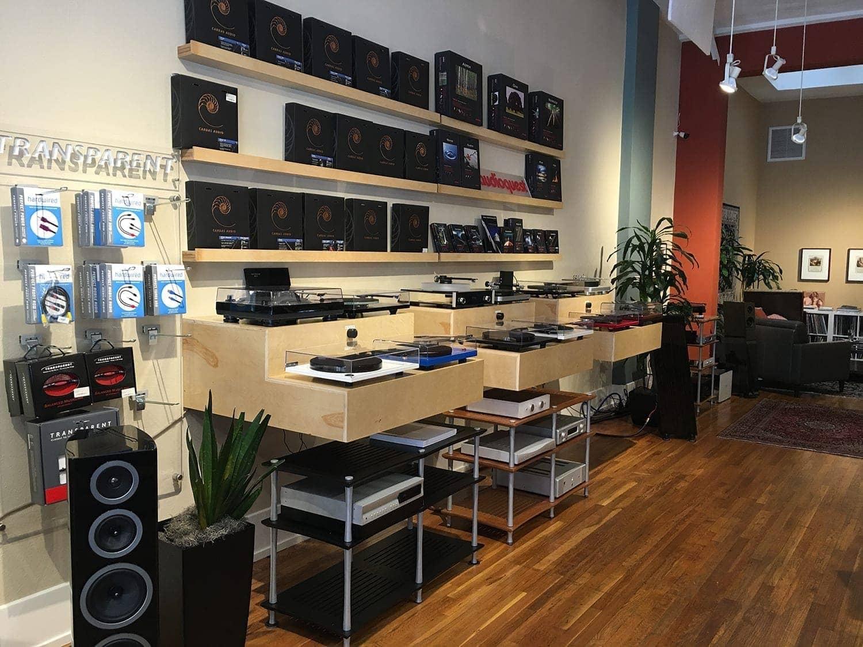 Audio Element Turntable Bar