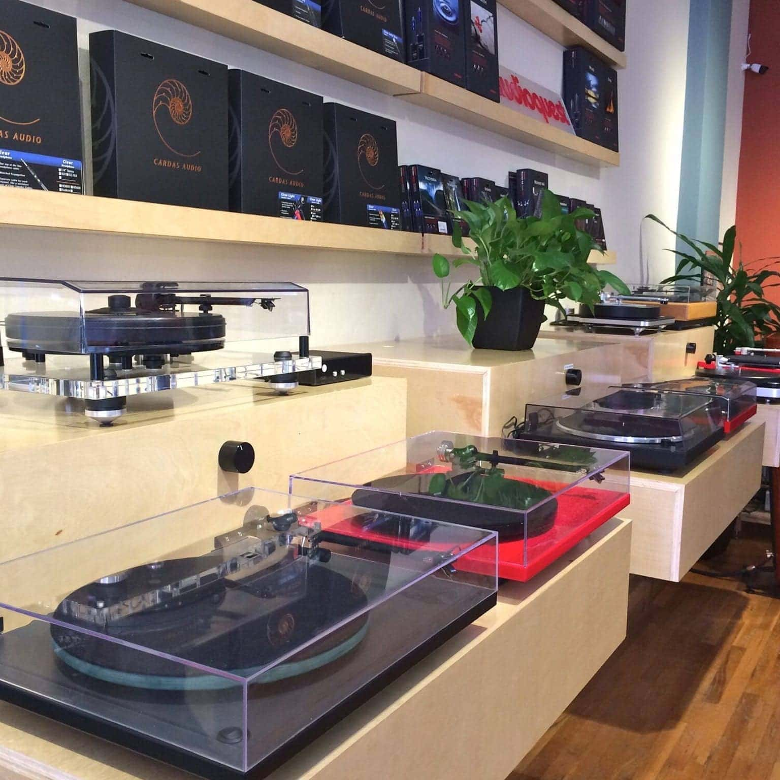 Audio Element Turntable Bar