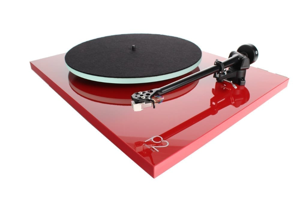 Rega Planar 2 red turntable