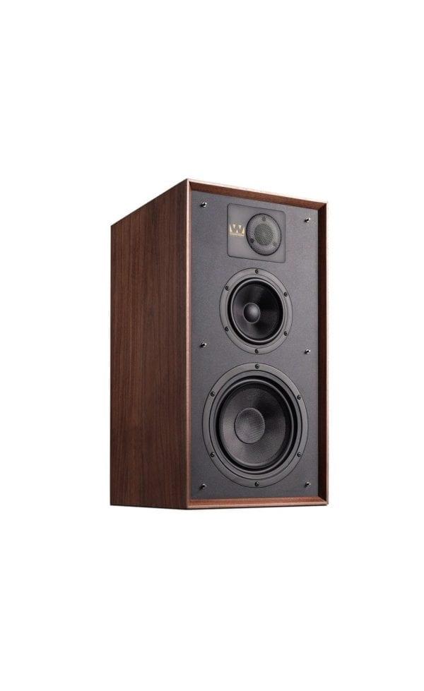 Wharfedale Linton speaker walnut no stand
