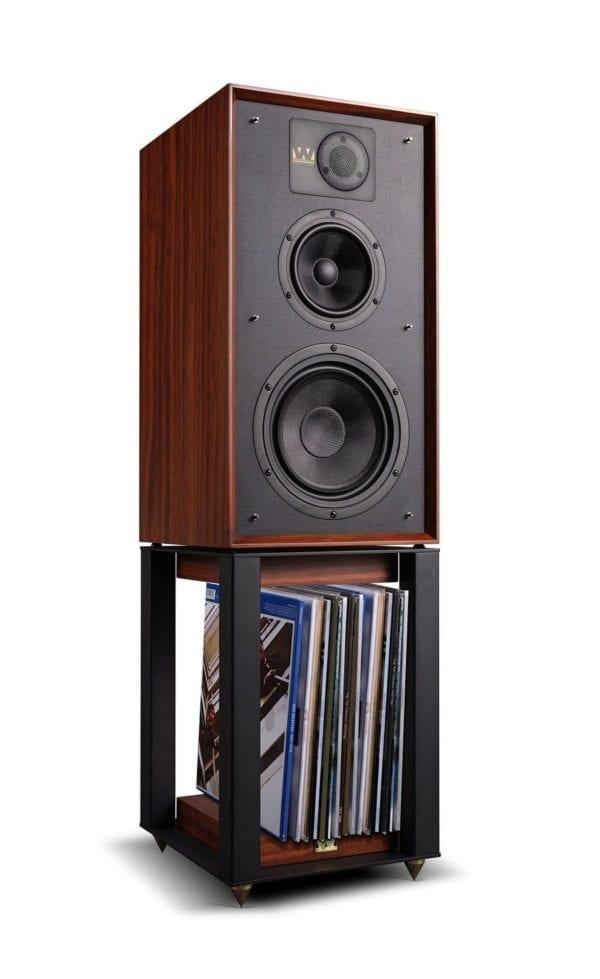 Wharfedale Linton speaker red mahogany single