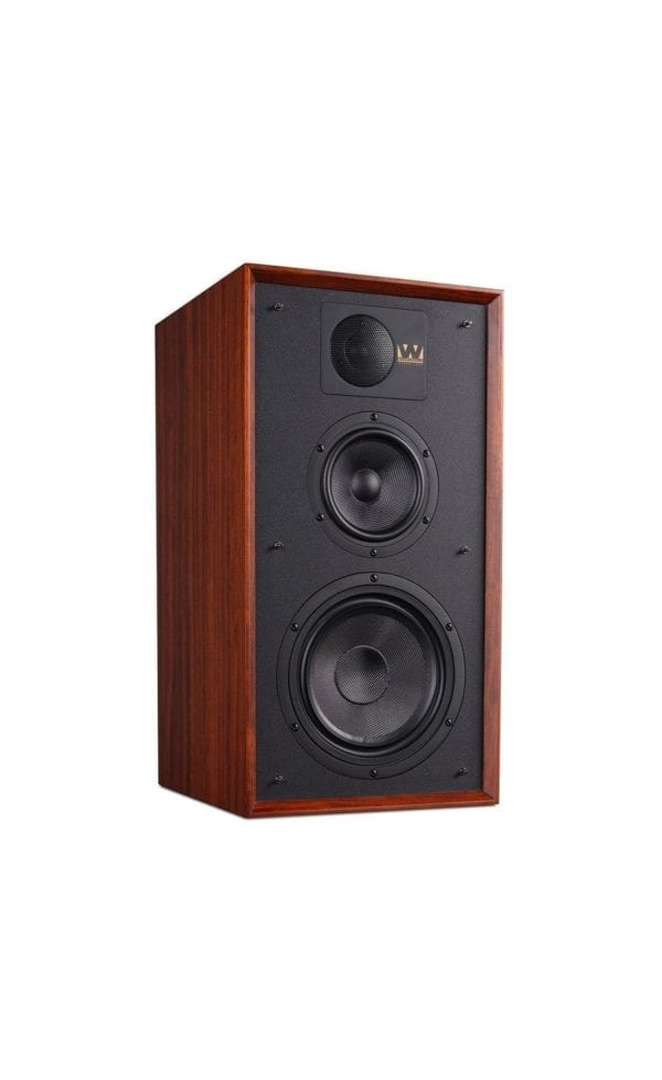 Wharfedale Linton speaker red mahogany no stand