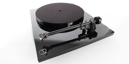 Rega Planar 1 black side view