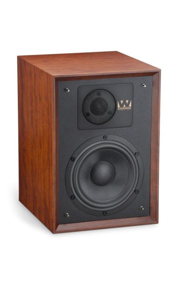 Wharfedale Denton 85th speaker red mahogany