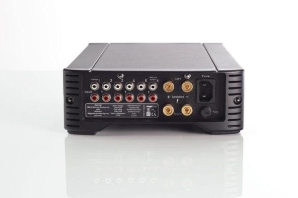 Rega Brio integrated amplifier back