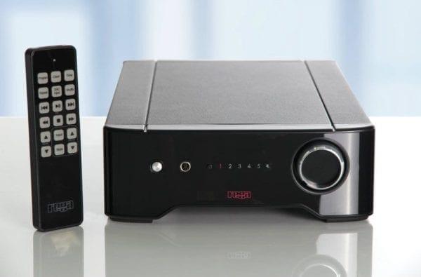 Rega Brio integrated amplifier with remote