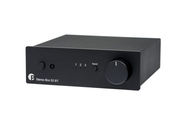 Pro-Ject stereo box integrated amplifier in black
