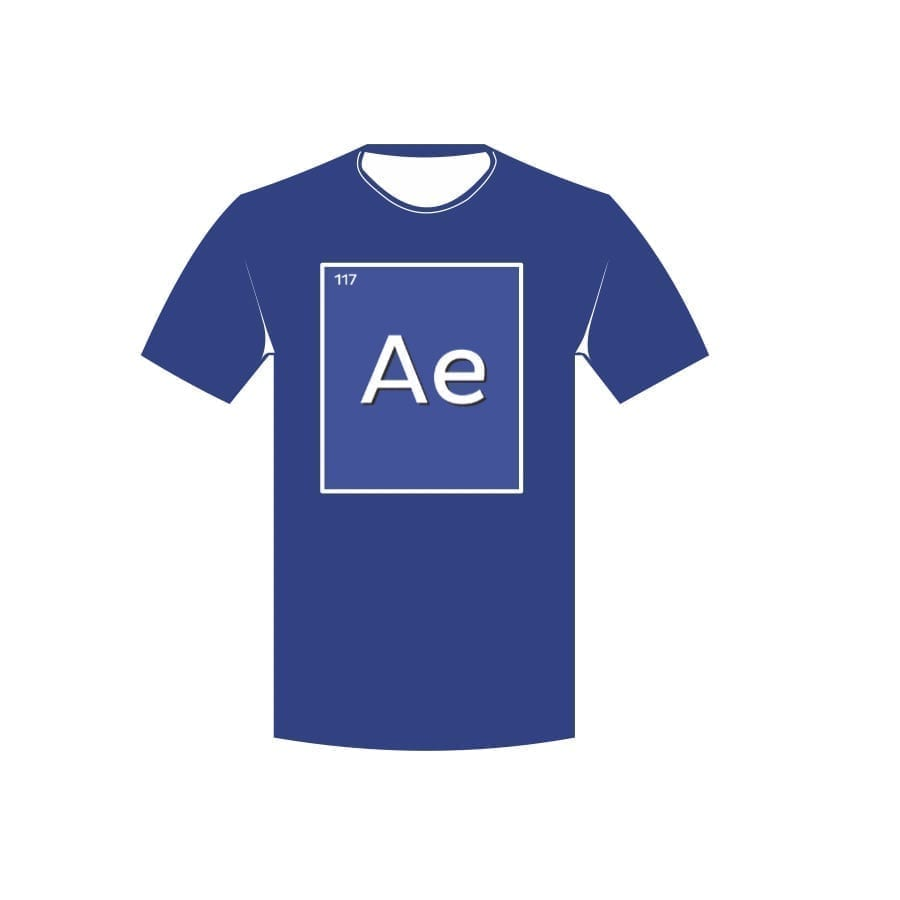 T-shirt with Audio Element logo